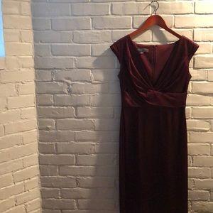 Donna Rico purple dress